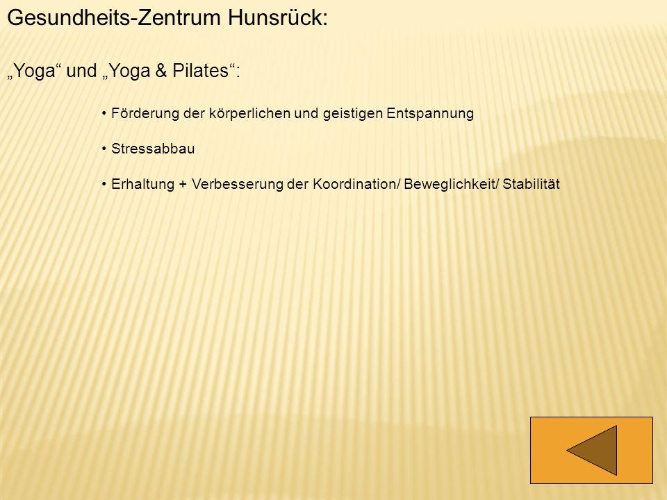 Gesundheits-Zentrum Hunsrück:
