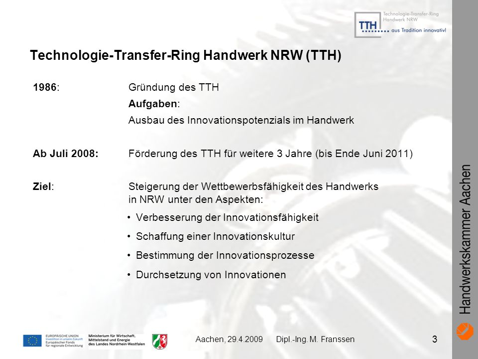 Technologie-Transfer-Ring Handwerk NRW (TTH)