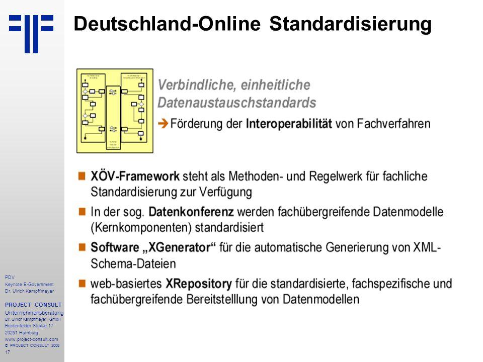 Deutschland-Online Standardisierung