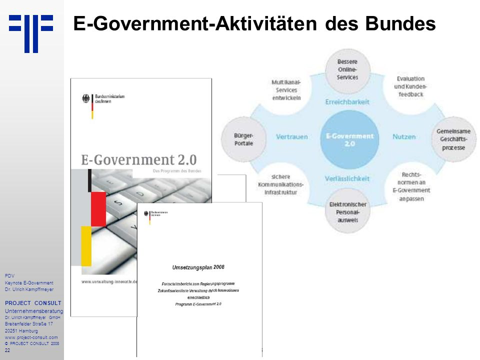 E-Government-Aktivitäten des Bundes