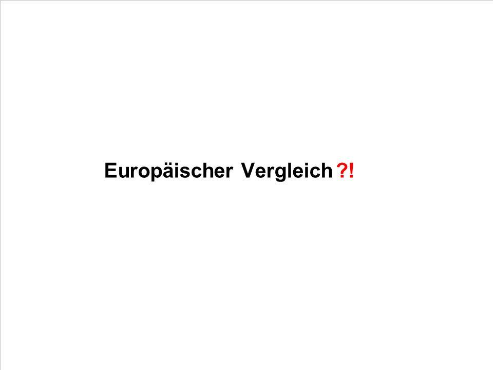 Europäischer Vergleich !