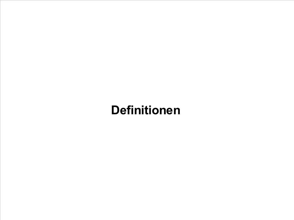 Definitionen PROJECT CONSULT Unternehmensberatung PDV