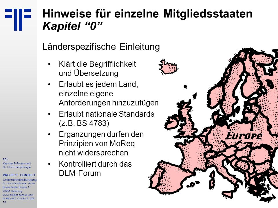 Hinweise für einzelne Mitgliedsstaaten Kapitel 0