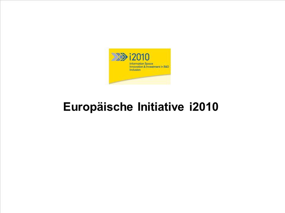 Europäische Initiative i2010