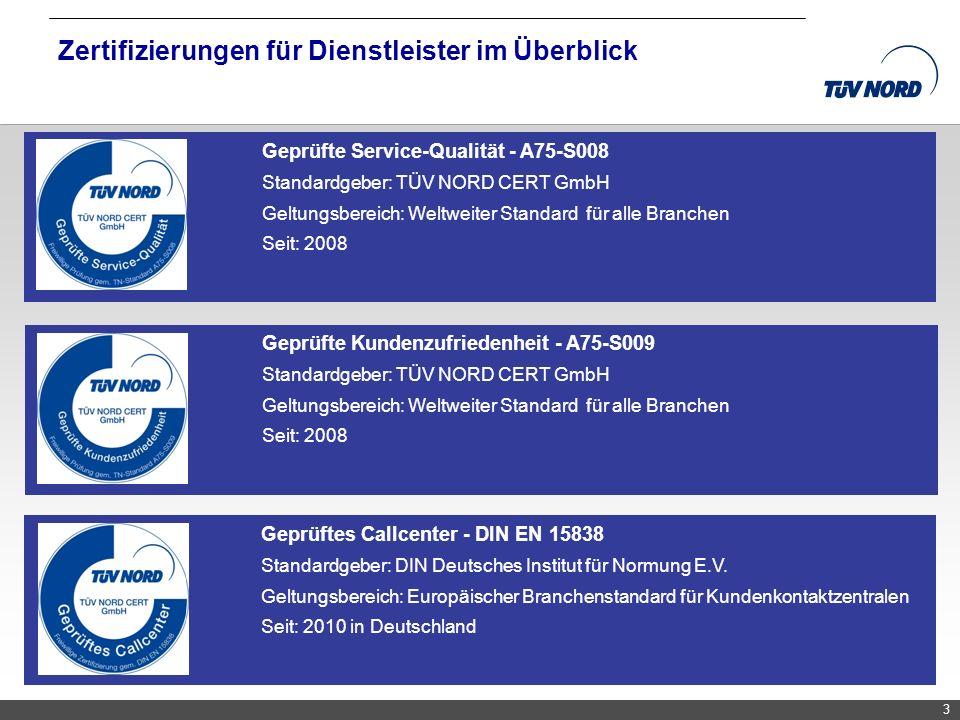 Zertifizierungen für Dienstleister im Überblick
