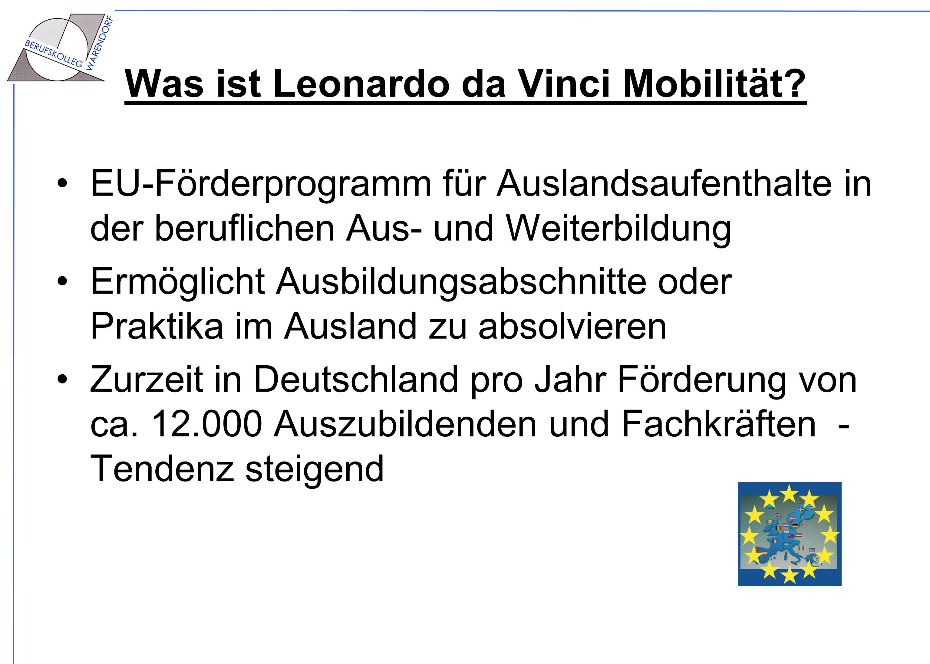 Was ist Leonardo da Vinci Mobilität
