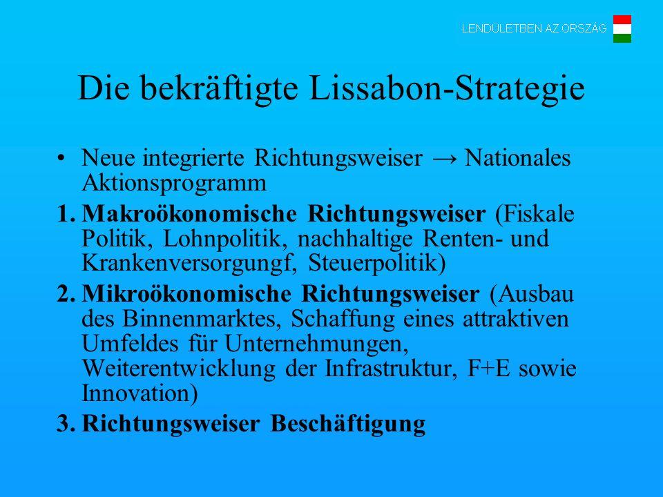 Die bekräftigte Lissabon-Strategie