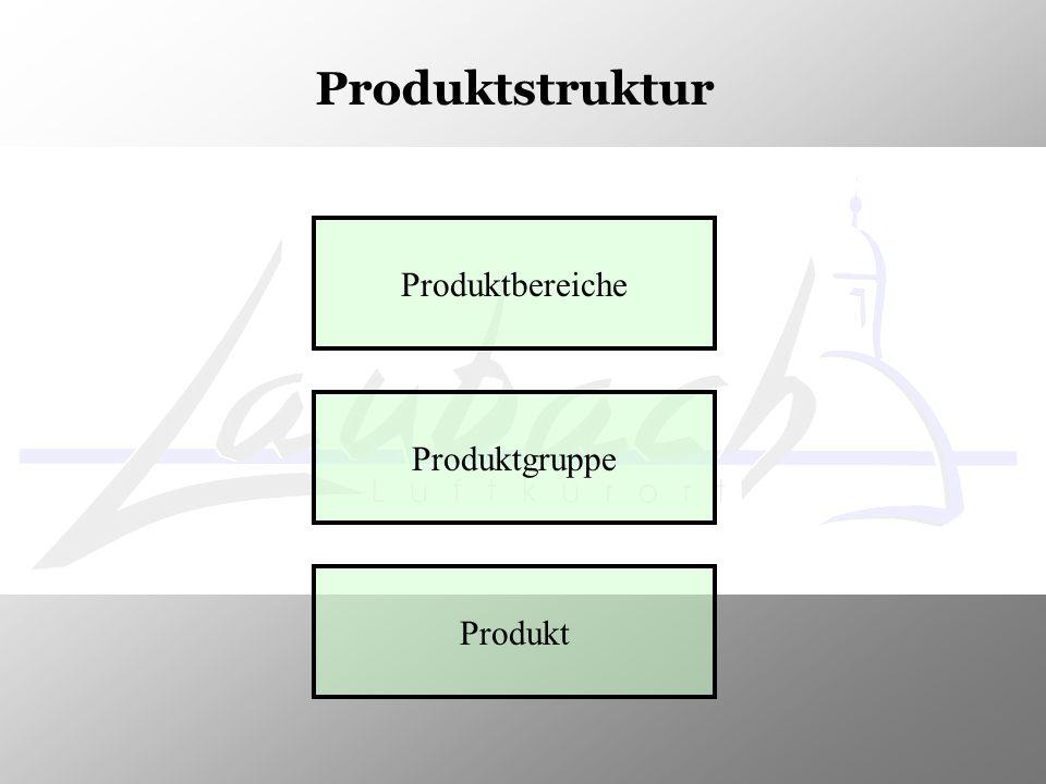 Produktstruktur Produktbereiche Produktgruppe Produkt