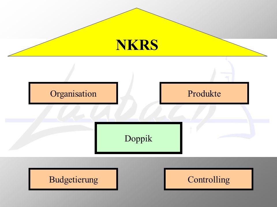NKRS Organisation Produkte Doppik Budgetierung Controlling
