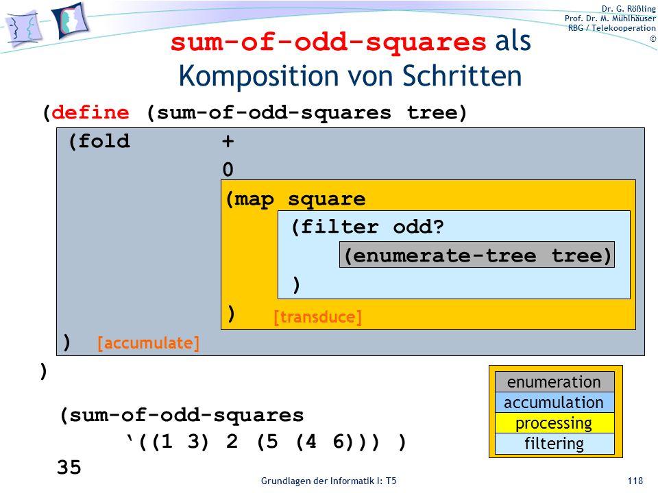 sum-of-odd-squares als Komposition von Schritten