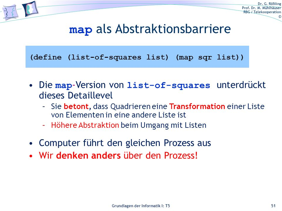 map als Abstraktionsbarriere
