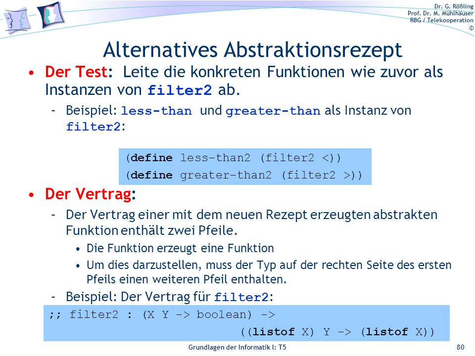 Alternatives Abstraktionsrezept