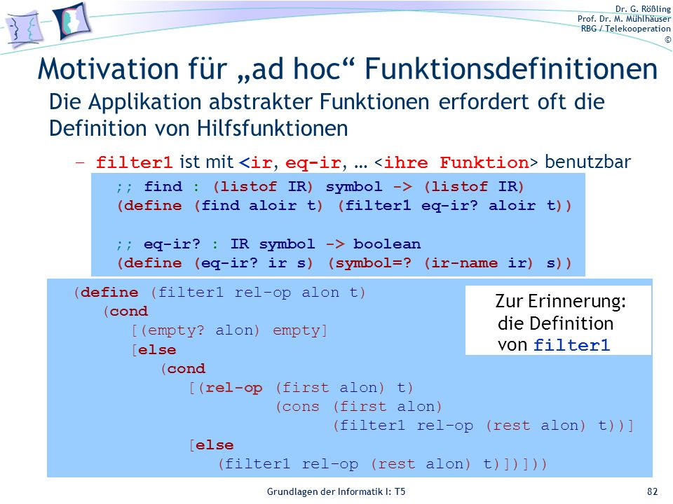 "Motivation für ""ad hoc Funktionsdefinitionen"