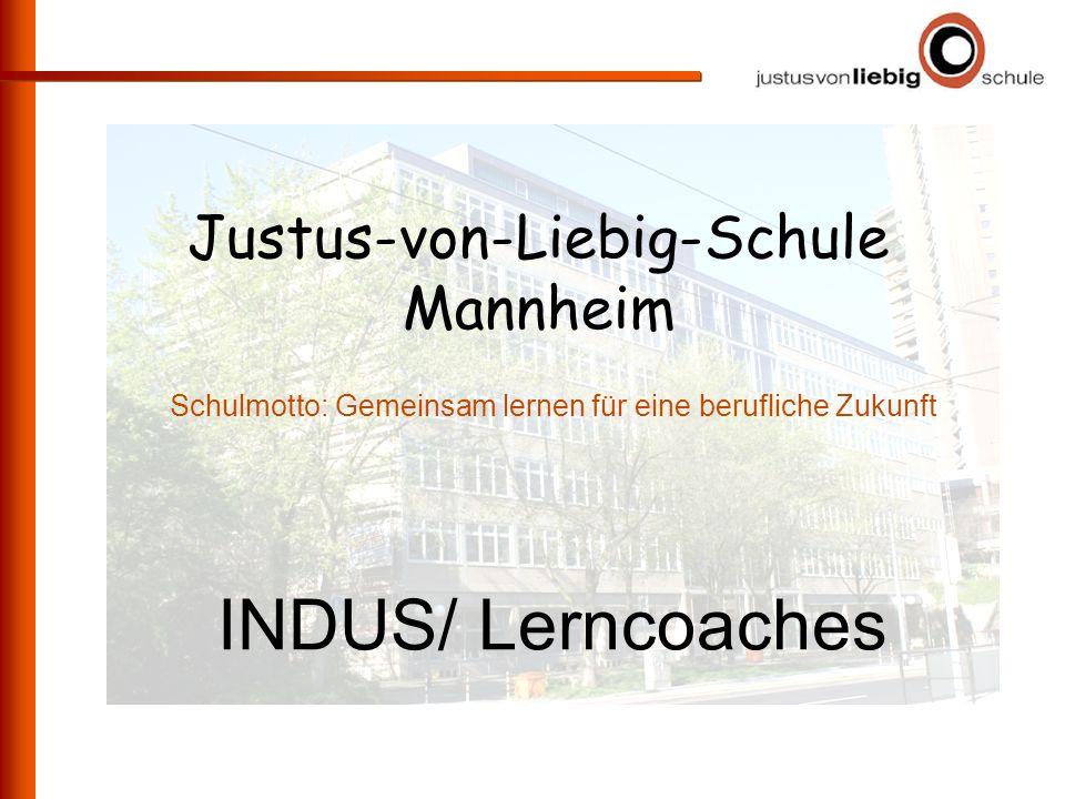 INDUS/ Lerncoaches Justus-von-Liebig-Schule Mannheim