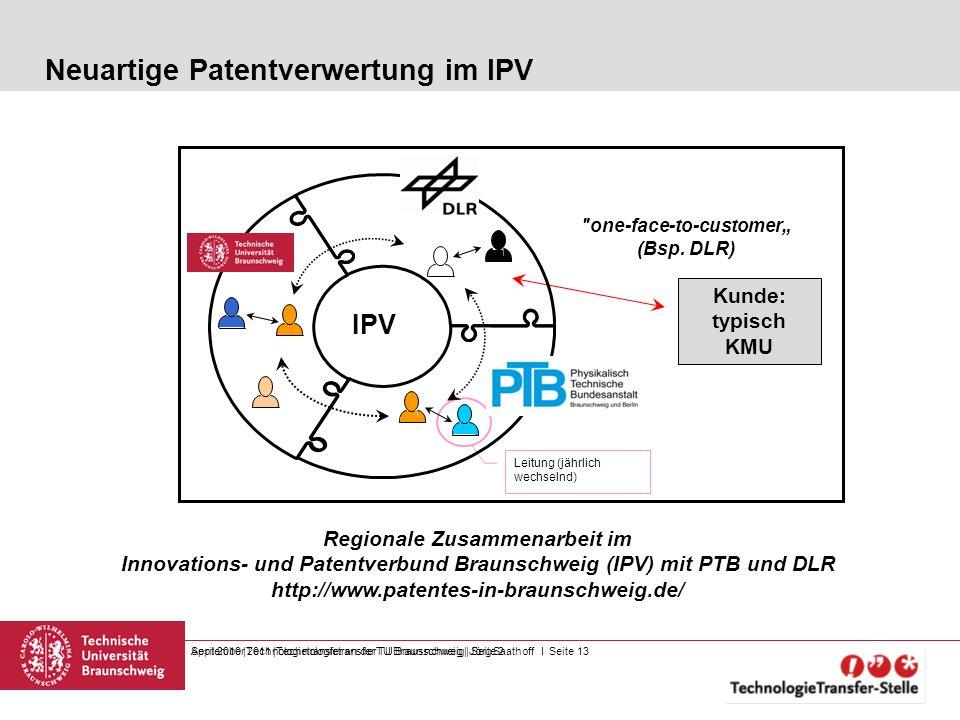 Neuartige Patentverwertung im IPV