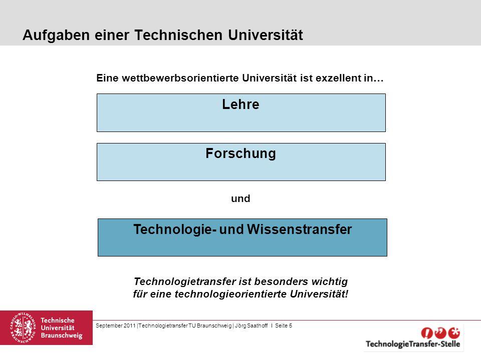 Aufgaben einer Technischen Universität