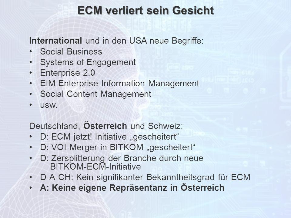 ECM verliert sein Gesicht