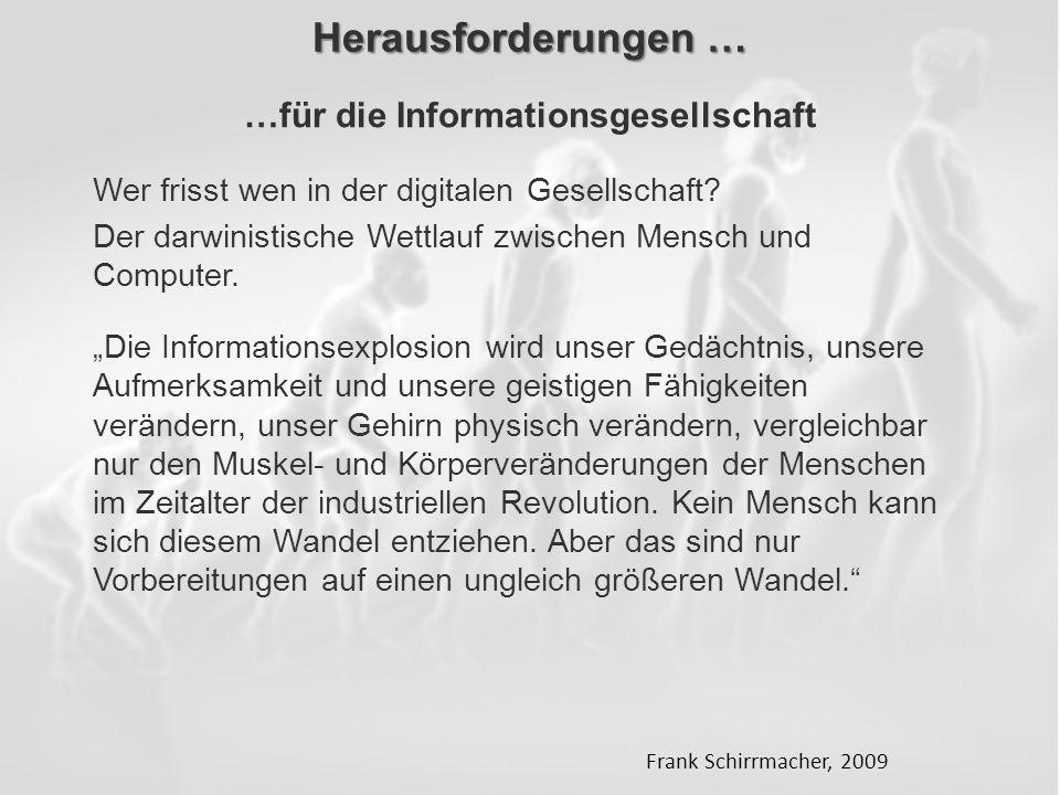 …für die Informationsgesellschaft