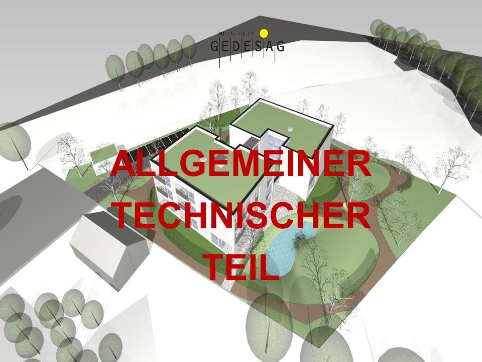ALLGEMEINER TECHNISCHER TEIL