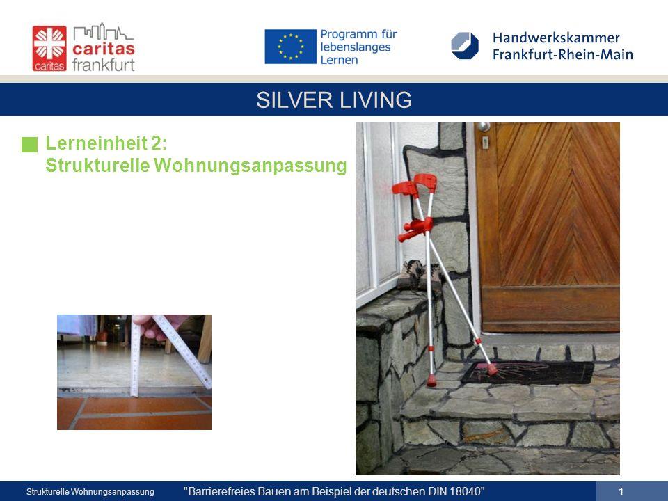Lerneinheit 2: Strukturelle Wohnungsanpassung