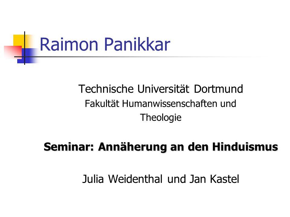 Seminar: Annäherung an den Hinduismus