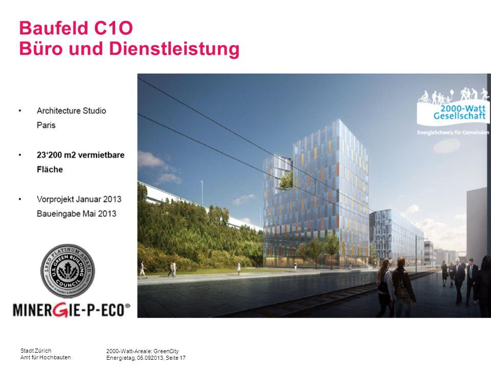 Baufeld C1O Büro und Dienstleistung