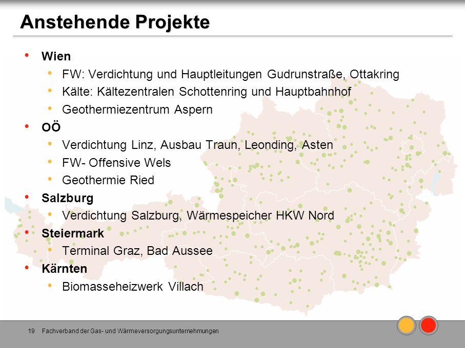 Anstehende Projekte Wien