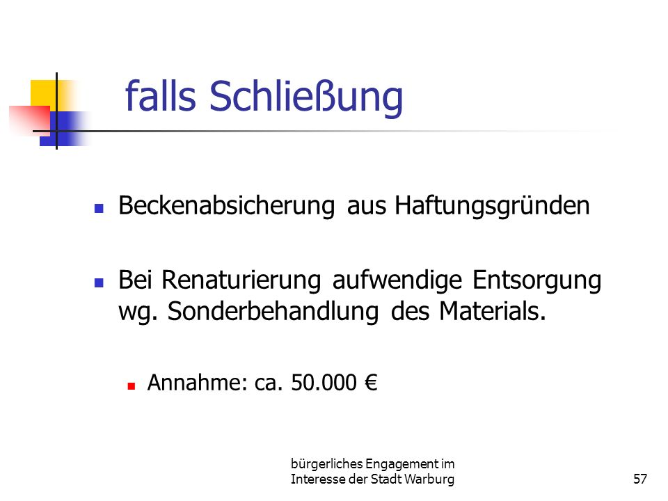 bürgerliches Engagement im Interesse der Stadt Warburg