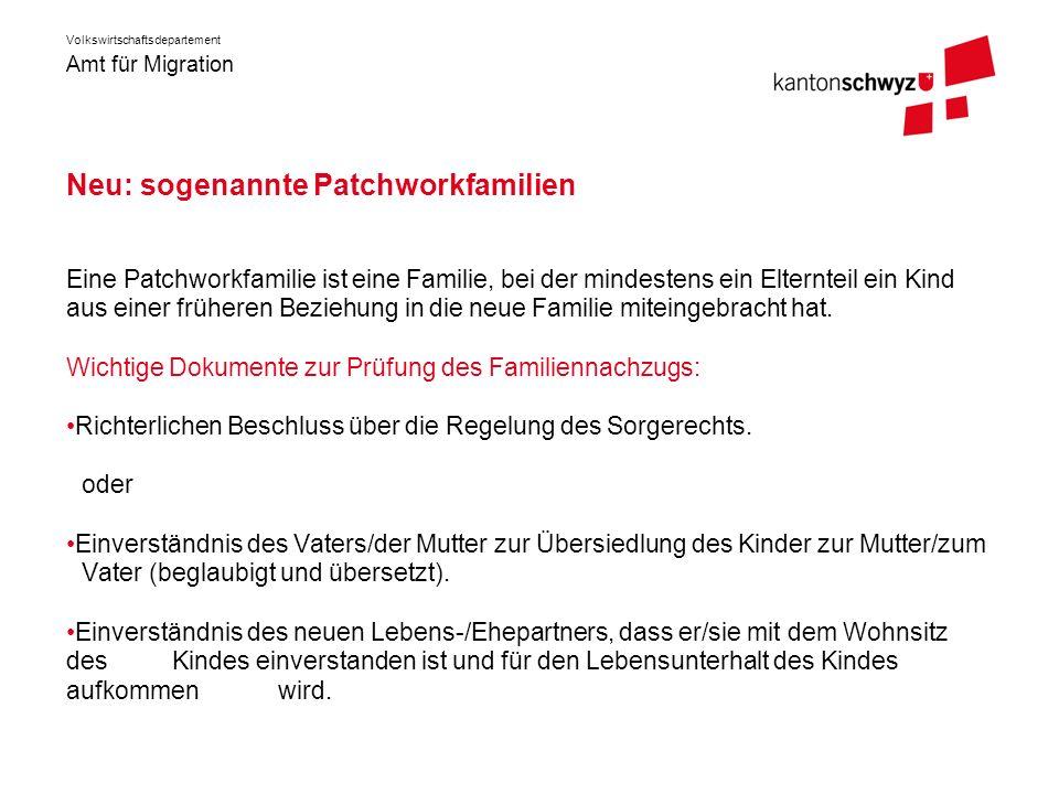 Neu: sogenannte Patchworkfamilien