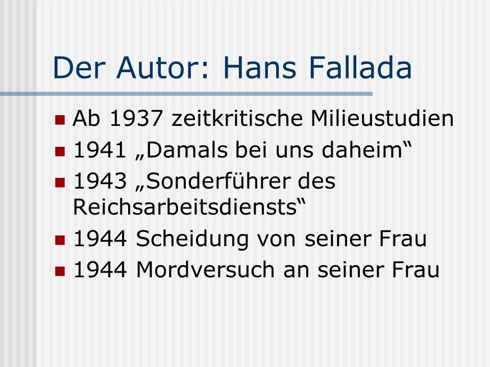 Der Autor: Hans Fallada