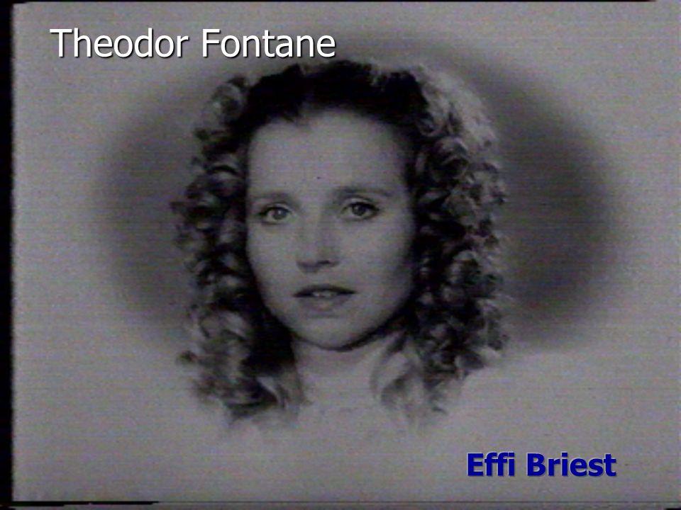 Theodor Fontane Effi Briest