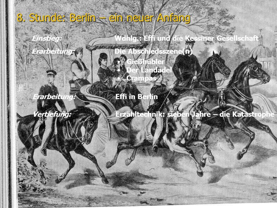 8. Stunde: Berlin – ein neuer Anfang