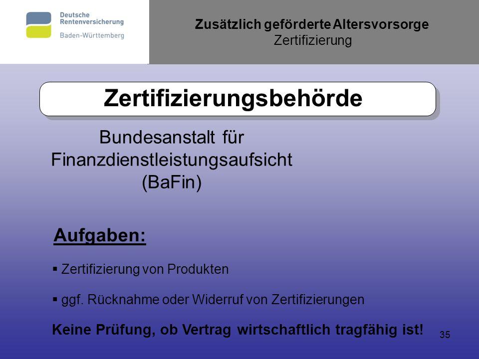 Zertifizierungsbehörde