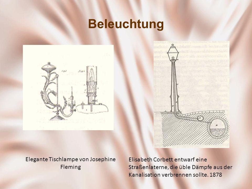 Elegante Tischlampe von Josephine Fleming