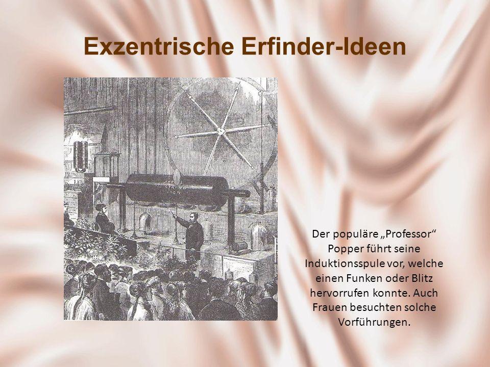 Exzentrische Erfinder-Ideen