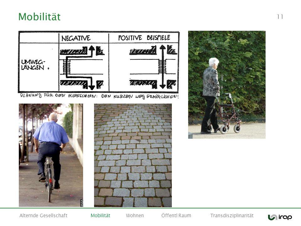 Mobilität Alternde Gesellschaft Mobilität Wohnen Öffentl Raum Transdisziplinarität