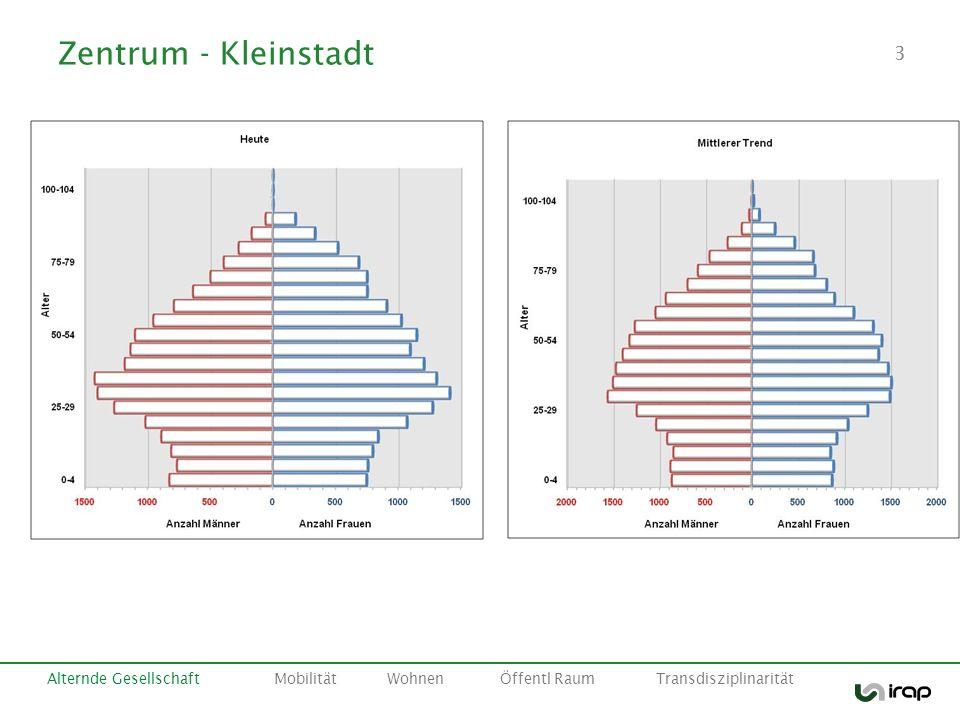 Zentrum - Kleinstadt Alternde Gesellschaft Mobilität Wohnen Öffentl Raum Transdisziplinarität.