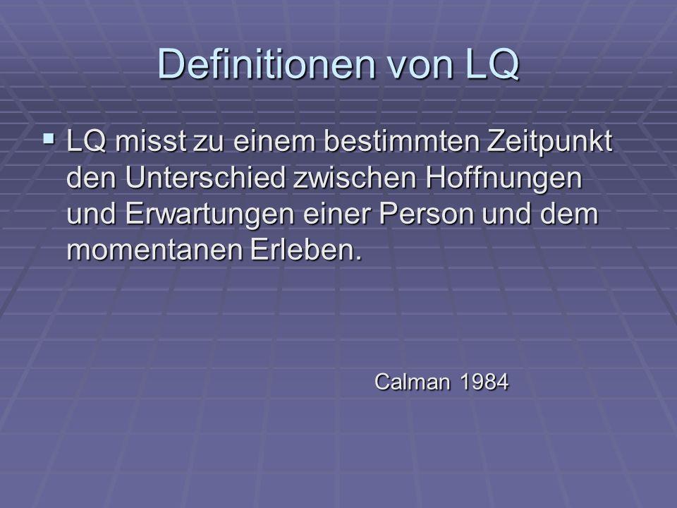 Definitionen von LQ