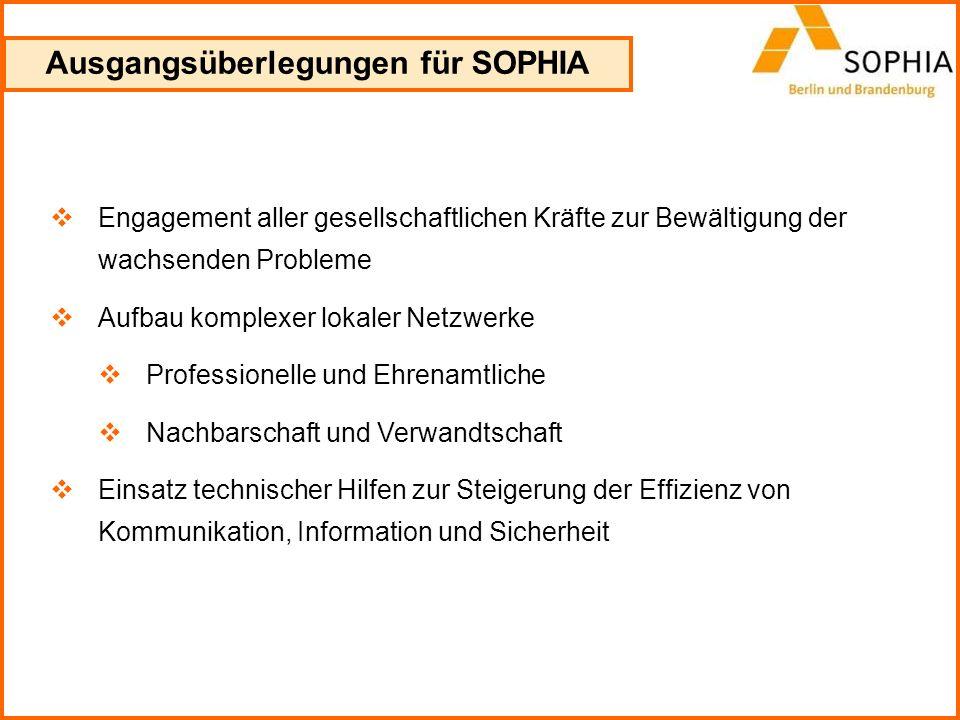 Ausgangsüberlegungen für SOPHIA