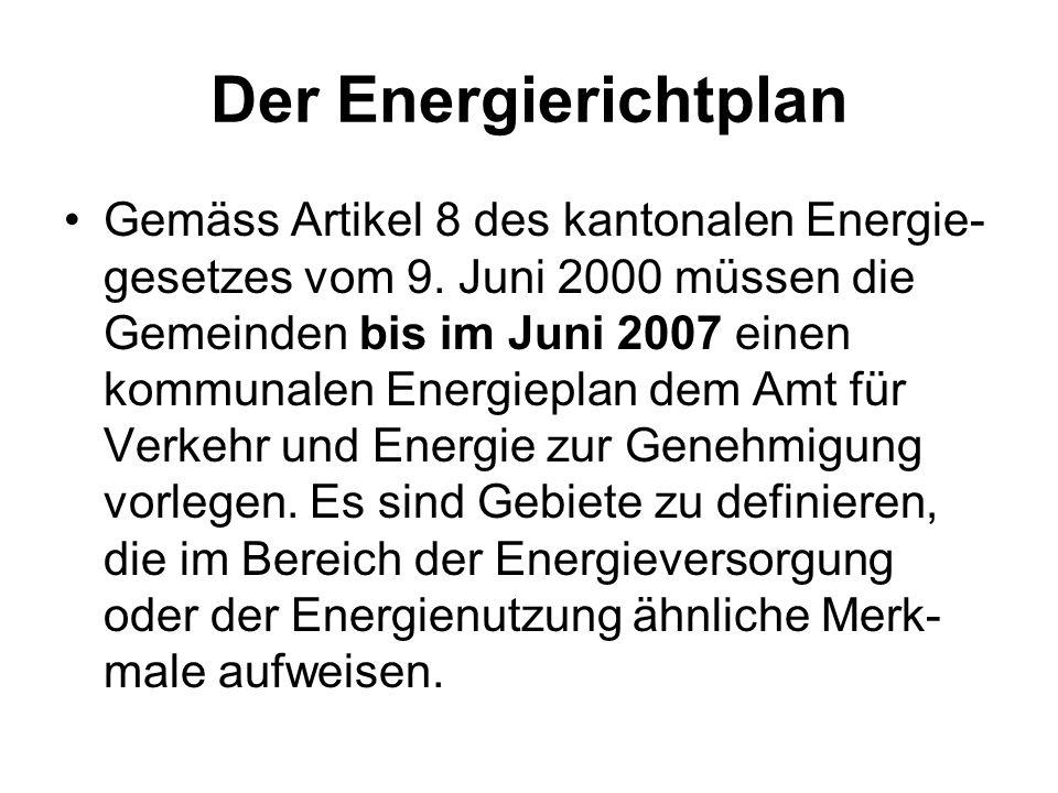 Der Energierichtplan
