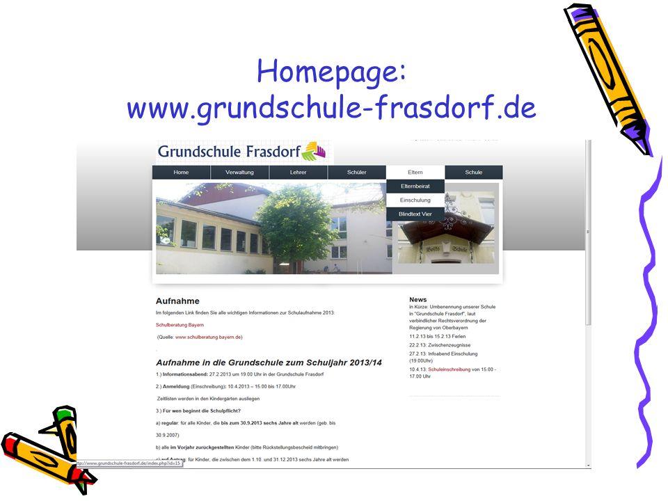 Homepage: www.grundschule-frasdorf.de