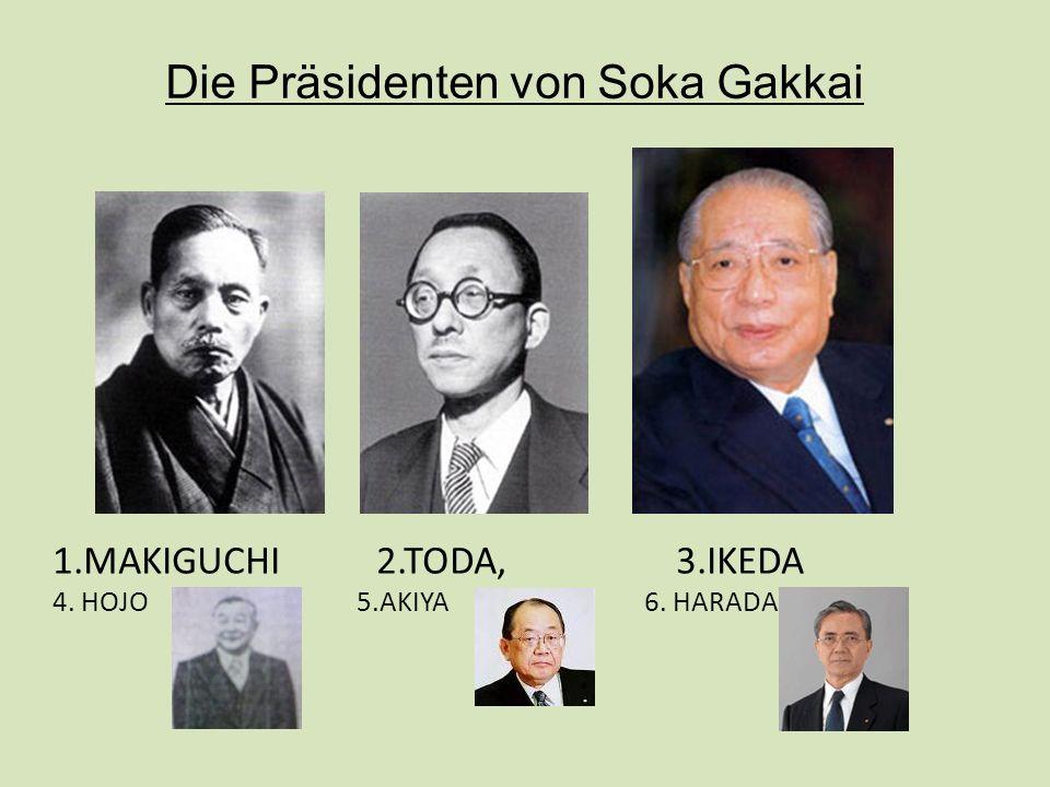 1.MAKIGUCHI 2.TODA, 3.IKEDA 4. HOJO 5.AKIYA 6. HARADA