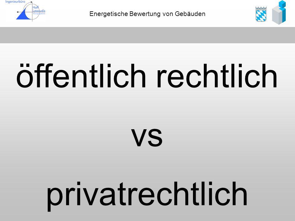 öffentlich rechtlich vs privatrechtlich