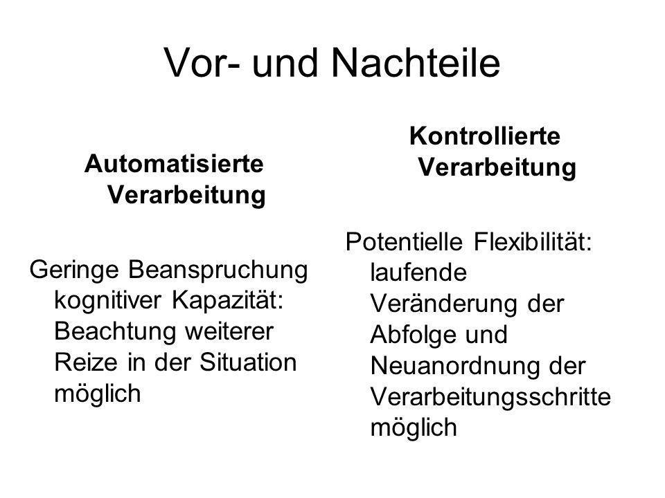 Kontrollierte Verarbeitung Automatisierte Verarbeitung