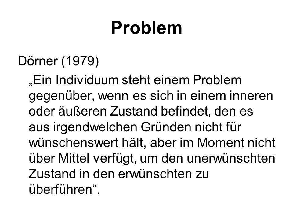 Problem Dörner (1979)