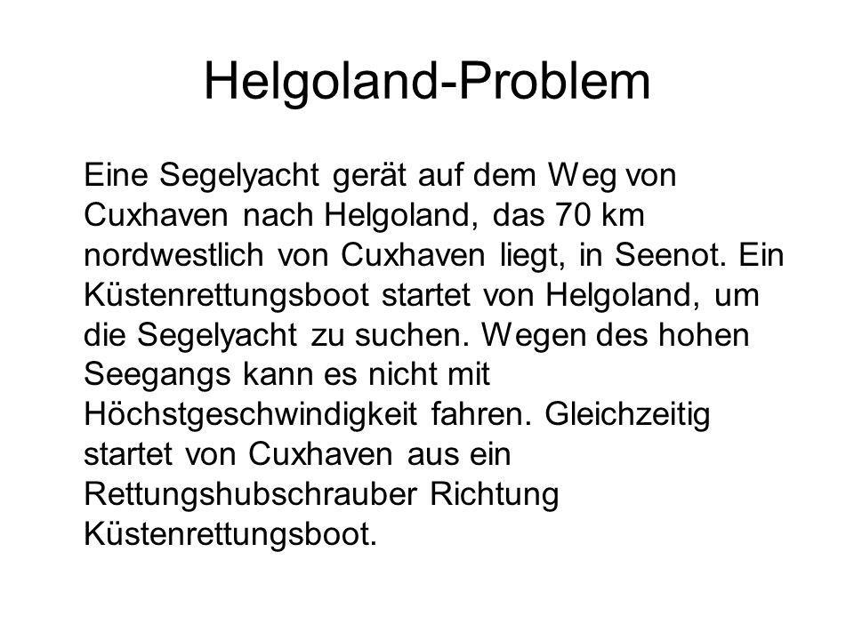Helgoland-Problem