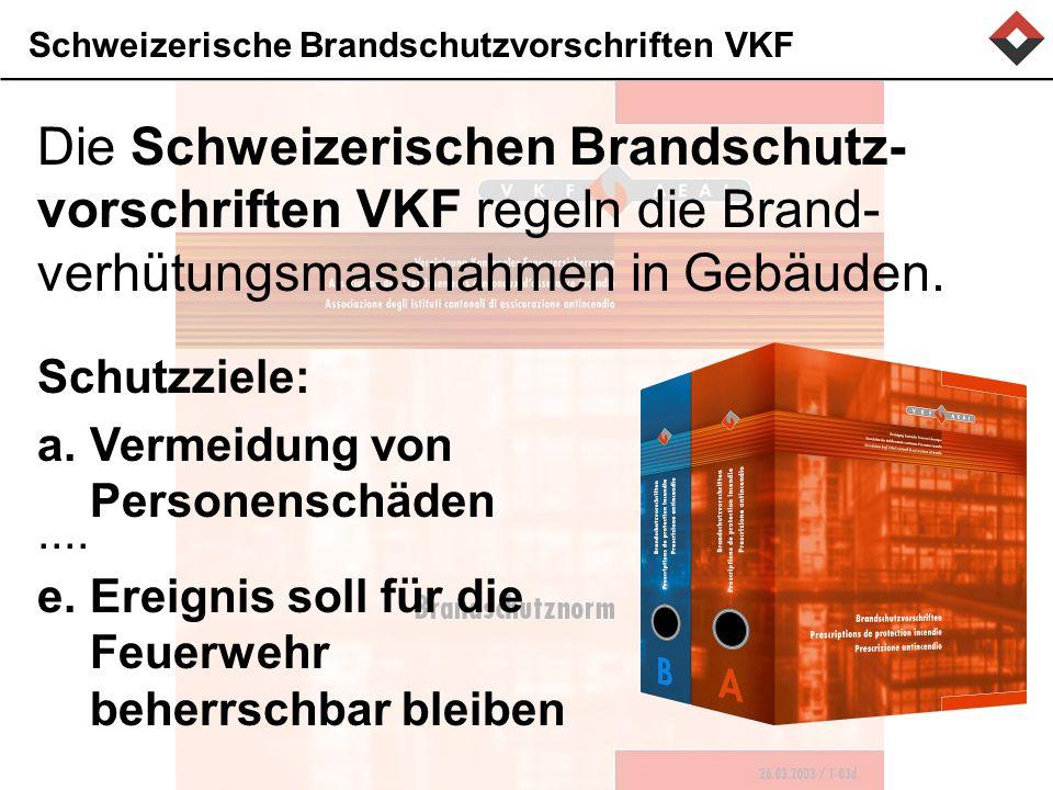Schweizerische Brandschutzvorschriften VKF