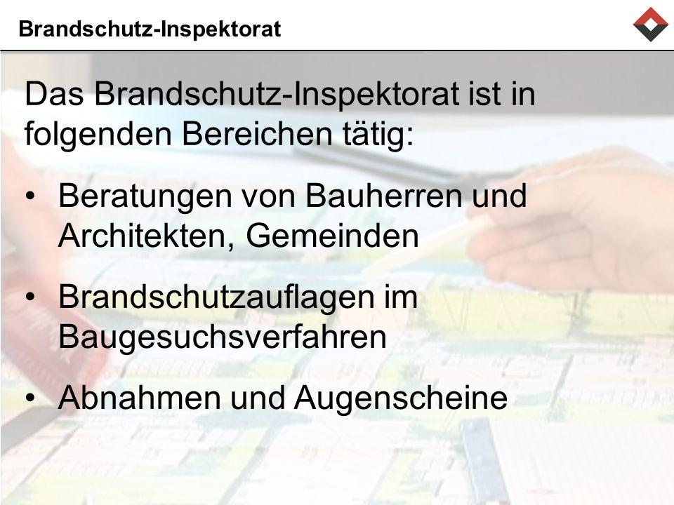 Brandschutz-Inspektorat