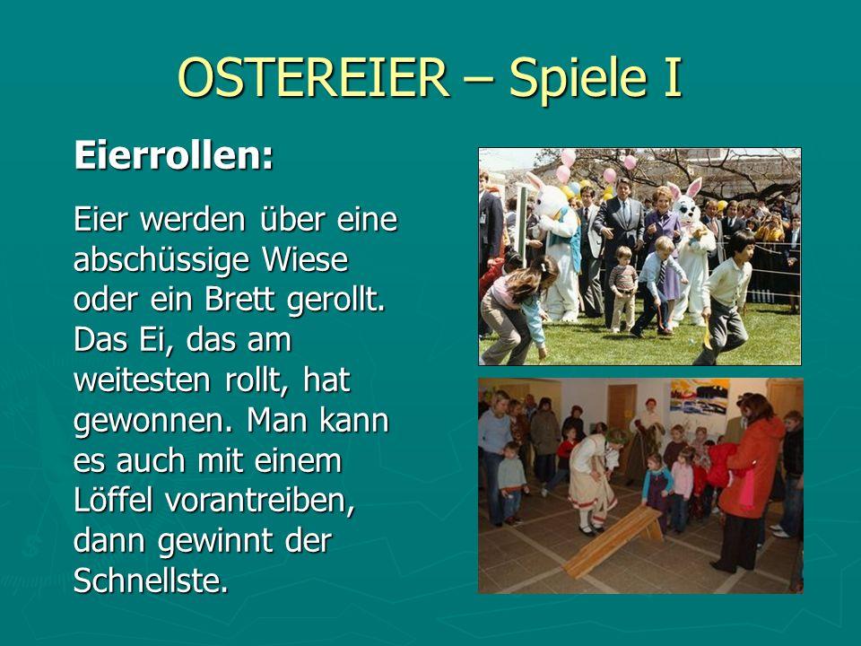 OSTEREIER – Spiele I Eierrollen:
