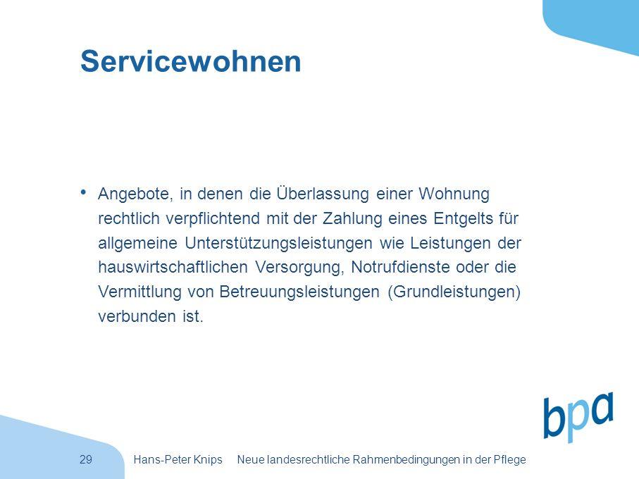 Servicewohnen